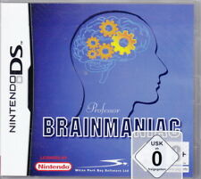 Professor Brainmaniac (NDS) Multilingual (NDS) In Box, mit Anleitung