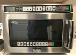 Sharp microwave-commercial / Heavy Duty 1200 Wt .76 Cf Dual Mag Read ShiPCredit