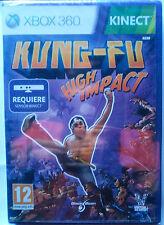 KUNG-FU HIGH IMPACT. JUEGO XBOX 360. REQUIERE KINECT. PAL-ESP. NUEVO,PRECINTADO.