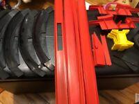 Johnny Lightning Track Set Pieces Parts Lot Vintage Topper