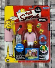 The Simpsons TROY McCLURE Intelli-Tronic Figure 2002 Phil Hartman Star Series 1