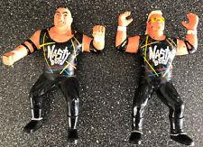 VINTAGE WCW 1994 OSFTM NASTY BOYS TAG TEAM HARD RUBBER ACTION FIGURES WWF LJN