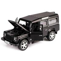 1:32 Land Rover Defender Alloy Car Model Sound And Light Trailers SUV Toy Car