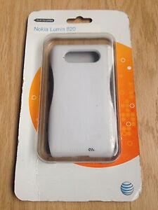 New Casemate POP White Gray Hybrid Case Cover For Nokia Lumia 820