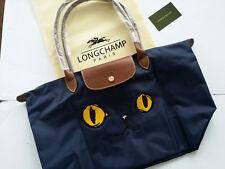 Authentic Longchamp - Le Pliage tote bag ( Miaou Navy Size L )
