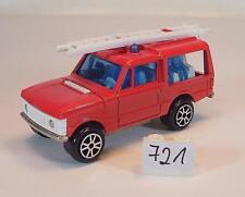 Majorette 1/60 Nr. 246 Range Rover Feuerwehr Mannschaftswagen Nr. 1 #721