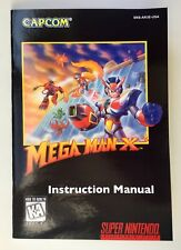Mega Man X3 - SNES Super Nintendo - Reproduction Instruction Booklet, Manual