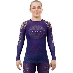 Tatami Fightwear Women's Journey Eco Tech Recycled Long Sleeve Rashguard- Purple