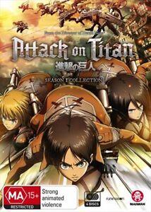 Attack On Titan: Season 1 Blu-ray