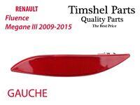 Catadioptre Pare Choc Gauche Arriere Pour Renault Megane MK3 265650004R