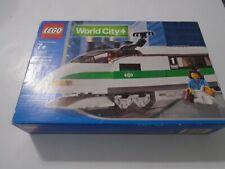 Lego Train 9V World City 10157 High Speed Train Locomotive NEW e9