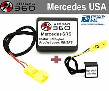 Mercedes SRS  passenger seat mat occupancy recognition  sensor ,emulator bypass