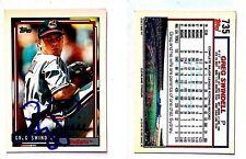 Greg Swindell Signed 1992 O-Pee-Chee #735 Card Cincinnati Reds Auto Autograph