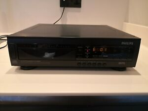 Philips AK791/65 6 Disc CD Changer Player Hi Fi Separate. In working order.