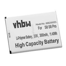 Batterie 3000mAh Li-Po pour ULEFONE S8, S8 Pro