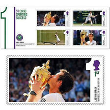 UK Andy Murray Wimbledon Champion Miniature Sheet MNH 2013