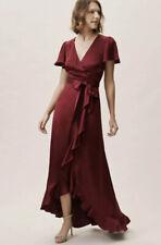 NEW Ghost London Phoebe Wrap Dress Size Large