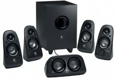 Surround Sound Speakers Logitech Home Theater Subwoofer Channel Cinema TV Nib