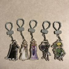 The Legend of Zelda Link Backpack Buddies  Ocarina of Time Key Chain Figure Lot