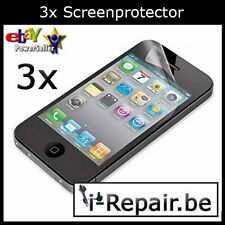 3x iPhone 4 - iPhone 4s Screenprotector - Schermbeschermer i-Repair.be