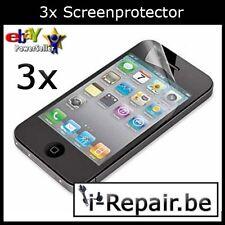 3x iPhone 4 - iPhone 4s Screenprotector - Schermbeschermer i-Repair.be