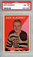 1958-59 Topps #62 Don McKenney PSA 8 NM-MT Boston Bruins