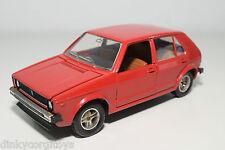 MEBETOYS 8596 VW VOLKSWAGEN GOLF MKI MK1 RED EXCELLENT CONDITION
