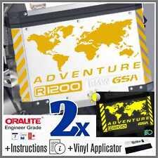 11pcs Kit R 1200 GS Reflective Yellow BMW ADVENTURE Touratech ADESIVI r1200gs