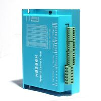 HBS86H Motor Driver Hybrid NEMA34 Stepper Drive Controller Motor 30-100V DC