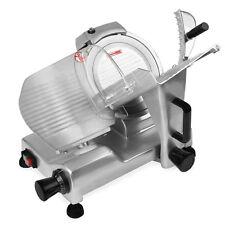 VERTES Trancheuse à viande électrique lame inox de 220 mm trancheur à jambon