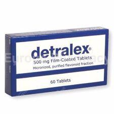 DETRALEX 500mg N60 - Varicose Vein-Heavy Legs,Hemorrhoids. SAME DAY DISPATCH*