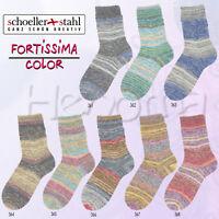 """100g Schöller + Stahl Fortissima 4-fach """"Fjord Color"""" Sockenwolle Wolle stricken"""