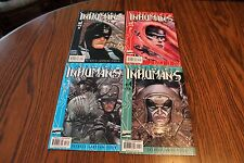The Inhumans Set #1,2,3,4 2000 NM- 9.2 Marvel See My Store