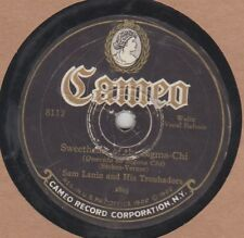 78 rpm-Cameo 8112-Sam Lanin-Sweetheart Of Sigma Chi/Goodrich Broad-Whole Wor VG-