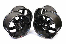 VOLK RACING TE37 SL FORGED WHEELS 18x9.5 +40 FOR 08-16 SUBARU STI/15+ WRX PG