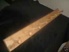 wooden coat rack shaker style oak coat rack 8 peg