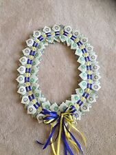 Handcrafted $50 Money Lei Bow Tie  - Graduation, Wedding, Special Occasion. NEW