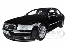 2004 AUDI A8 BLACK 1:18 DIECAST MODEL CAR BY MOTORMAX 73149