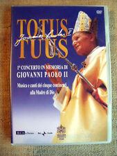 Totus Tuus 1° concerto in memoria di Giovanni Paolo II - DVD