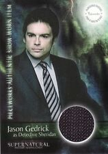 Supernatural Season 2 Det Sheridan PW16 Pieceworks Card