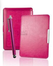 Caliente rosa Cuero Funda Para Amazon Kindle Paperwhite 5 6 Wifi cubierta C / el modo de suspensión
