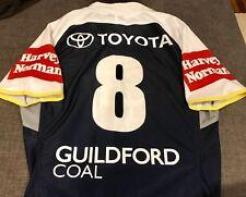 North  Queensland Cowboys Game  Players Jersey Matt Scott Qld State Of Origin