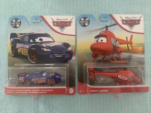 Disney Pixar Cars 3 Kathy Copter Red Rsn Helicopter & Fabulous McQueen Mattel