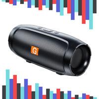 Portable Bluetooth Speaker Wireless Waterproof Stereo Bass USB/TF/FM Radio LOUD