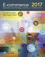 E-Commerce 2017 by Kenneth C Laudon, Carol Guercio Traver (Hardback, 2017)
