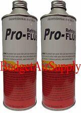 2 CANS -PRO Refrigerant FLUSH 16 oz  Pro Flushing Solvent (PRF-FS) 16 oz Flush