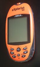 GPS Magellan EXPLORIST 100 FIX OR PARTS only as is