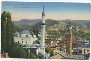 Österreich Bosnien & Herzegowina Postkarte Sarajevo Graz 1915