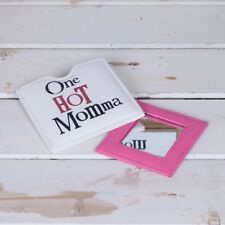 One hot Momma Handbag Compact Mirror Vanity The Bright Side Fun Gift New