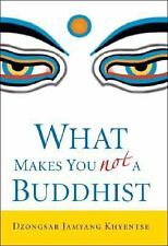 What Makes You Not a Buddhist by Dzongsar Jamyang Khyentse (2006, HC/DJ))